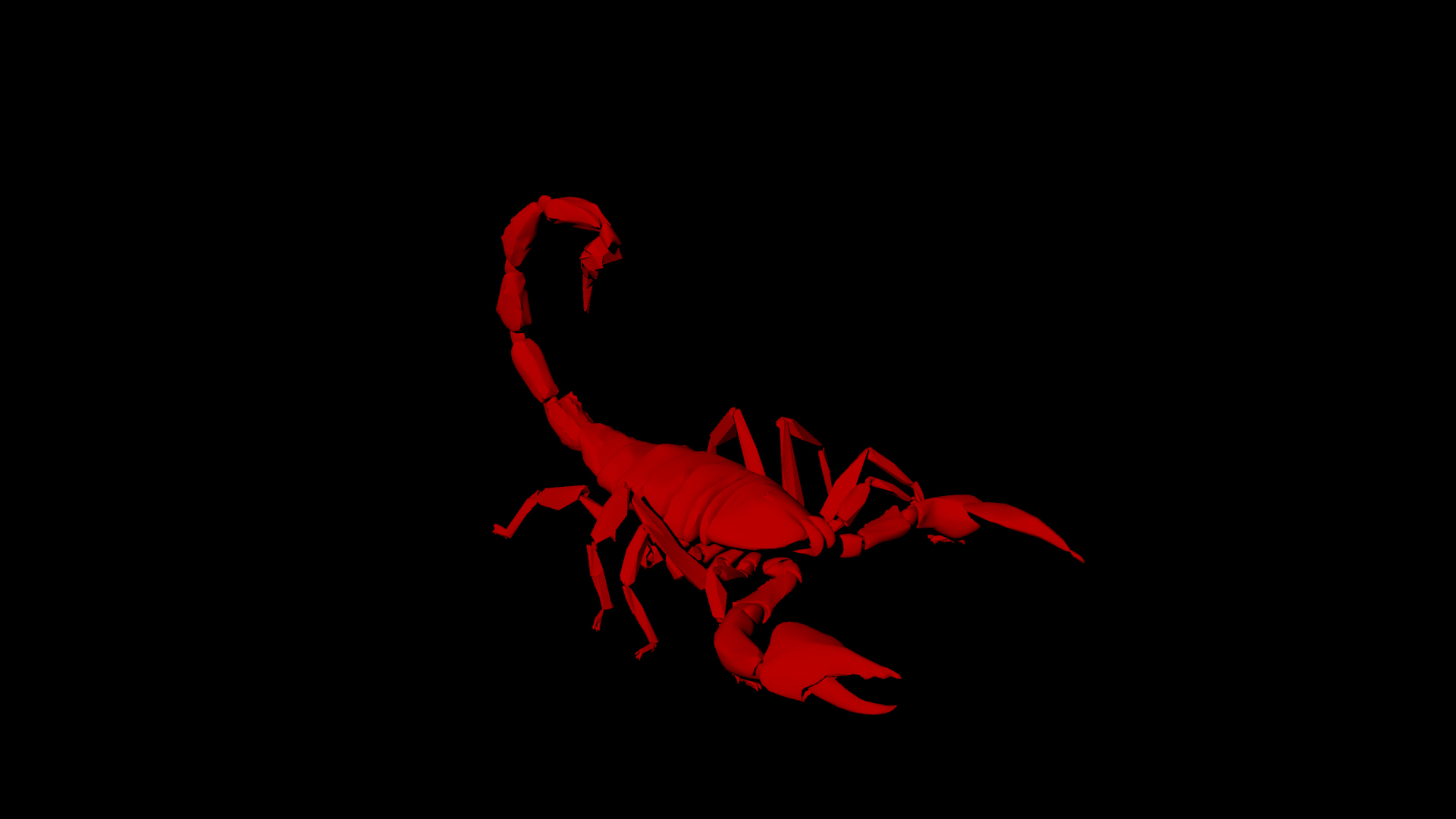 Red scorpion wallpaper - photo#10